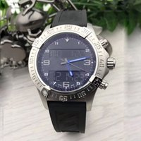 1884 Professional Mens Dual time zone watch Electronic pointer display montre de luxe Wristwatches rubber strap watches male clock