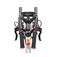 Bike-Lenkerkomponenten Faltlenker des Mountain-Hochkohlenoxidations-Qualitätsgeräts mit doppeltem Schnallen