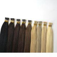 Cheapest!! I Tip Keratin Hair Extensions 1 Gram Pre bonded Hair 50 Strands, Indian Straight 100 Human Hair