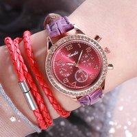 Armbanduhren 2021 Mode Luxus Frauen Uhren Schwarz Lederband Armbanduhr Für stilvolle Damen Quarz Uhr Armbanduhr Rorel Mujer