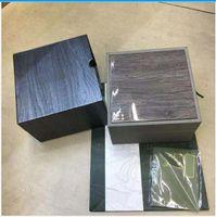 En Kaliteli Kutuları Offshore İzle Orijinal Kutu Kağıtları Sertifika Ahşap Boxe Çanta Hediye 15400 15500 15710 26703 26470 Saatler
