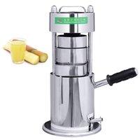 Gewerblicher Houreld Manual Sugar Cane Juicer-Handpresse Zuckerrohrsaft-Extraktion Manuelles Sugarcane-Squeezing-Mühlmaschine