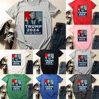 TRUMP 2024 I WILL BE BACK T shirt XS-4XL Plus Size Designers Tshirts Summer Unisex Sports Tee Sweat Tops US President Election Clothing Tiktok NEW G503IKY