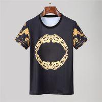 Frühlingsluxus Italien T-Shirt Designer SPOO SPOODE High Street Stickerei Strumpfgarten Snakes Little Bienen Druck Kleidung Herren Marke Polo Shir @ 1