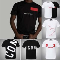 20 + Renk Rahat Tee Baskılı Erkekler T Gömlek Spor T-Shirt Erkek Simgesi D2 Gömlek En Kaliteli Kol M-3XL Giysileri 0202