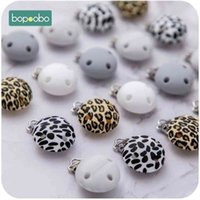 Bopoobo 10pc Pacifier Clip Silicone Soother Teether Nipple Holder Pacifier Accessories Dummy Clasps Hole Clamp For Baby Product 210407