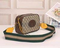 Tasarımcı tasarım yüksek kaliteli marka kamera çantası seri numarası ve çip ile.