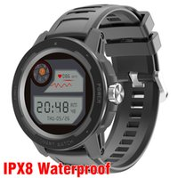 IP68 Waterproof Swimming Smart Watch 2021 GPS Maps Sport Clock Wristwatch Bracelet Drink Reminder Fitness Tracker Heart Rate HT6 Smartwatch Men Women Android IOS