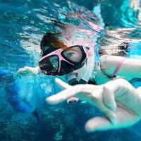 Copozz جديد المهنية الغوص الغوص قناع الغص نظارات نظارات أنبوب مجموعة الرجال النساء سيليكون معدات حمام السباحة jllkdk eatout