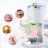Fully Automatic Ice Cream Machine Mini Household Fruit Yogurt Sweet Tube Electric DIY Kitchen DHE9464