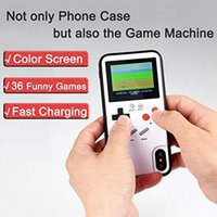 36 Kinds Games Handheld Retro Game Console With Color Display Gameboy Phone Cases For iPhone 12 11 Xs Max 7 8 Plus