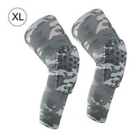 Elbow & Knee Pads 2 PCS Pack Anti-Collsion Breathable Camouflage Leg Sleeve For Basketball Football Mountaineering Professiona