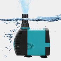 3/6/10/15 / 25W Ultra-tyst nedsänkbar Vatten Fontän Pump Filter Fisk Pond Akvarium och stark kraft med hög lyftspänning: 110-240V