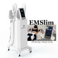 EM Slim Beauty Machine Emslim EMS Мышечный стимулятор Стимулятор Стимулятор Строительство Тело для похудения Машины для похудения Сосеменное устройство сжигания жира Hiemt