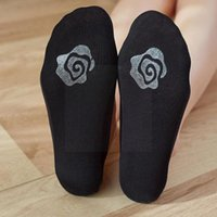 Socks & Hosiery Low Shallow Mouth Invisible Ice Silk Boat Silicone Non-slip Women Wholesale Sole Anti-drop M7h4