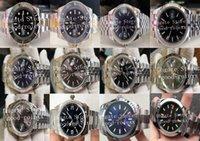 12 Stilmänner Automatik 2813 BP Fabrikuhr Jubiläum Armband Männer 126334 Keramik 214270 Gold Stahl 116613 Wimbledon 116400 Uhren Box