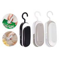 Handheld Portable Mini Sealing Machine Snack Food Storage Bag Clips Fresh-keeping Plastic Bags Seal Household Heat Sealer