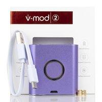 Nuevo Authentic Vapmod VMOD II VV Caja MOD 900mAH Vaporizador de batería Vape Vape Pen Variable Voltage Mods Kit para 510 Thread Cartridge Atomizer