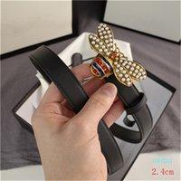 Küçük Arı Kemerleri Bayan Inci Kemer Rahat Pürüzsüz Toka Moda Modelleri Genişlik 2.4 cm 3.0 cm 3.8 cm Yüksek Kalite Kutusu Ile