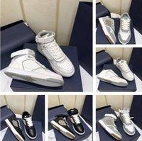 2021 Новые Мужчины Женщины B27 Повседневная Обувь Напечатанные Натуральные Кожаные Кроссовки Высокий Лучший Бегун Трена наклонный Наклонный Стилист Низкосопроизводительный Обувь на шнуровке с коробкой размером 35-46