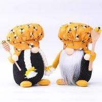 Festival d'abeille Peluche Beard Sans Face Old Homme Bee Dwef elf poupée poupée vieil homme vieilli chef créatif décoration