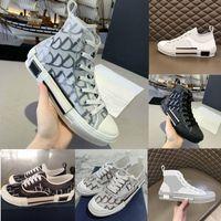 2021 مصمم B22 B23 عارضة الأحذية المائلة عالية منخفضة أعلى أحذية رياضية ميليكيس التقنية التطريز الزهور في الهواء الطلق الأحذية الجلدية مع مربع الملحقات