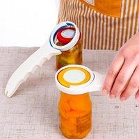 3 in 1 Multifunction Plastic Screw Cap Jar Bottle Wrench Opener Anti-Slip Handle Kitchen for Beer Bottle Jar Opener DWB10266