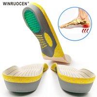 إكسسوارات الأحذية عالية الجودة pvc العظام النعال شقة القدم الصحة وحيد الوسادة للأحذية إدراج الرجال والنساء أخمصي التهاب اللفافة أقدام الرعاية