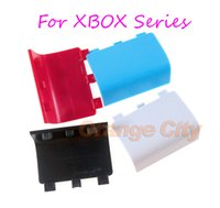 Replacement Housing Door Cover for Xbox One Series X S Controller Battery Shell Lid Back Case White Wholesale