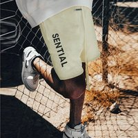 2021 Fashion Summer Etats-Unis Etude Coton Coton Coton Hommes Hommes High Street Coloré Moyen Jogging Pantalon Joggers T05