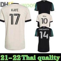MLS 21 La Galaxy Futebol Jerseys 22 Atlanta United FC Camisa de Futebol 2021 Inter Miami Beckham Chicharito 2022 Lafc Vela Ventilador Versão Men S-3XL