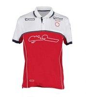 포뮬러 원 티셔츠 F1 팬 Serie 내리막 의류 통기성 오프로드 셔츠 사이클링 의류 셔츠 남성 여름 오프로드 오토바이 의류 사용자 정의
