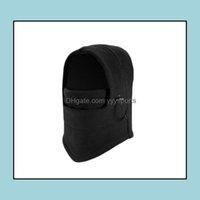 Caps Masks Protective Gear Sports & Outdoorswarm Winter Hats Outdoor Ski Balaclava Cycling Face Mask Scarf Sport Riding Skiing Cap Drop Deli