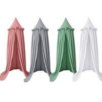 القطن الاطفال خيمة الطفل السرير مظلة البعوض صافي لسر مهد المعاوضة الأطفال الفتيات الفتيان داخلي اللعب منزل الديكور