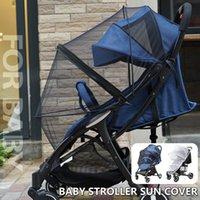 Designer Luxury Stroller Universal Barn Crib Summer Mesh Buggy Full Cover Fly Insect Protection Tillbehör Barnsignal Säker Mygg