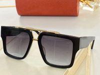 الرجال النظارات الشمسية للنساء 1009 الرجال نظارات الشمس المرأة نمط الأزياء يحمي عيون uv400 عدسة أعلى جودة مع القضية
