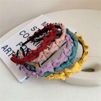 عقال حلوة فتاة الحلوى اللون BOWKNOT هيرباند ماركة تصميم اكسسوارات للشعر