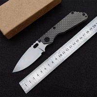 Top Quality LC Pocket Folding Knife D2 Stone Wash Blade CNC TC4 Titanium Alloy Handle EDC Tactical Knives