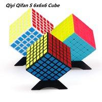 أحدث Qiyi Qifan S 6x6x6 ماجيك مكعب السرعة 6layers المهنية لغز كوبو ماجيكو 6x6 ألعاب تعليمية للأطفال هدية