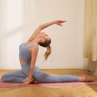 Pure Color Senensible Vest de Yoga Hip-Ascenseur et ventre Formation de Yoga Pantalons de yoga Pantalons de fitness Exercice Exercice Yoga Vêtements costume Jersey de football