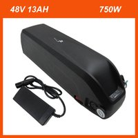 Paquete de baterías de 48V 12AH Hailong con USB 13S 48 Voltio 13AH 750W Litio 18650 Bateria para bicicleta eléctrica Bicicleta 500W 8Fun Kits de motor
