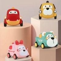 Coches de juguete para bebés para nacidos 0 12 meses juguetes de automóviles suaves para bebés 1 año de edad, mini carreras de carreras para niños, juguete educativo, regalo de niña
