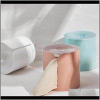 Boîtes Pièces de toilette Porte-toilettes Perfectionnée Plateau Papier Papier Étanche Mural Vue d'aspiration Rack Tissue de toilette Boîte de toilette Wmulq HKI5Y