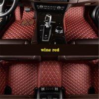 Oto Araba Kat Ayak Mat Hyundai Santa Fe Solaris Elantra Accent I30 Su Geçirmez Sadece Sağ Drive için Su Geçirmez