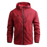 Mens Jackets designer Jacket Coat Sweatshirt Hoodie Long Sleeve Outerwear Autumn Sports Zipper Windbreaker Clothes windproof Hoodies Casual Plus size
