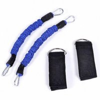 TOP! - Bande élastique de muscle à échantillon de la bande de résistance de l'expandeur Set de la jambe de fitness équipement de la cheville Strap T0TN #