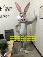 Bugs Bunny Rabbit Mascotte Kostuum Volwassen Cartoon Karakter Outfit Major Evenementen Professionele Stage Magic CX2038 Gratis schip