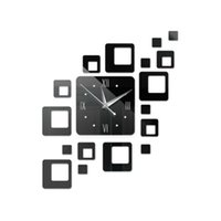 Time-Limited Quartz Wall Decoration Home Decoration Offerta Speciale Specchio Acrilico orologio Modern Design Watch Sticker Orologio