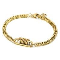 Link, Chain Trend 5mm Curbs Cuban Men's Bracelets On Hand Couple Bracelet Jewelry Birthday Gift