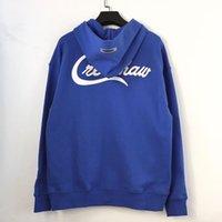 Névoa sensação de deus duplo fio crenshaw hoodie pequeno veludo essencial zipper camisola tmc